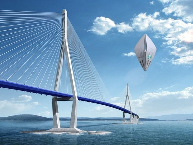 Sky Dream, Hôtel volant – Projet touristique durable innovant