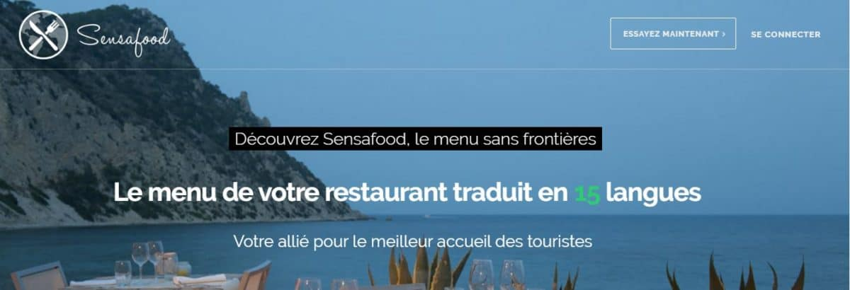 [Interview] Le digital à l'assaut de la restauration avec SensaFood