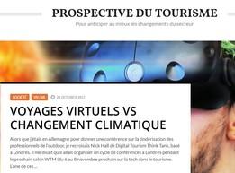 Lancement d'un nouveau blog sur la prospective du tourisme